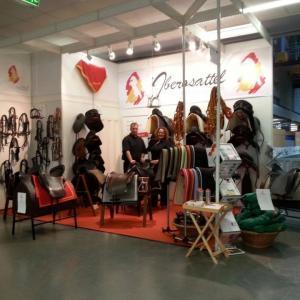 Iberosattel stellt im März auf der Essener Equitana 2017 aus